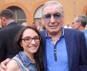 Con Gigi Riva!